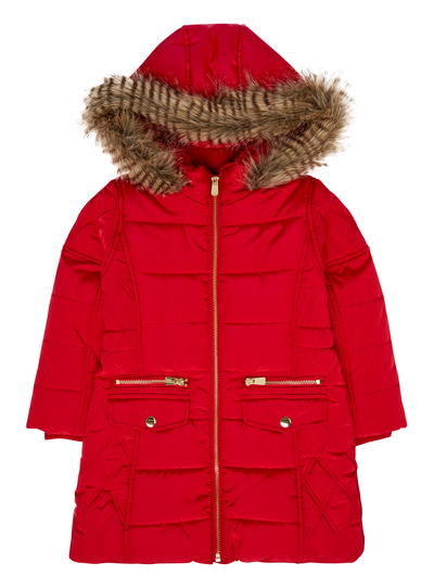 Girls Puffa Coat | Down Coat