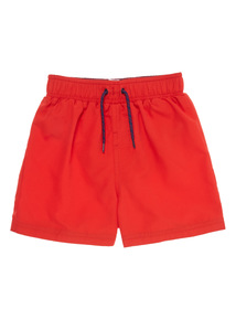Red Swim Shorts (3-12 years)