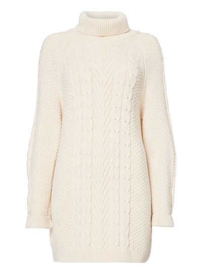 Honeycomb Cable Knit Tunic