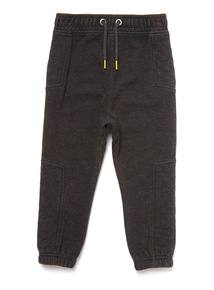Black Acid Wash Joggers (9 Months- 6 Years)
