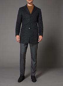 Grey Grindle Slim Stretch Trousers