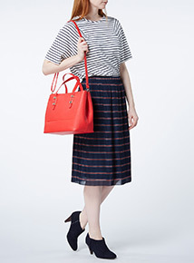 Red Large Tote