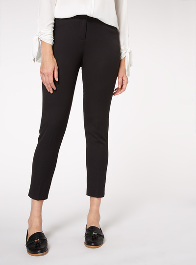 c855a9a42abf Womens Black Tapered Trousers | Tu clothing
