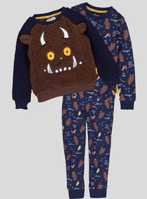 The Gruffalo Navy 3 Piece Pyjama Set (1-6 years)