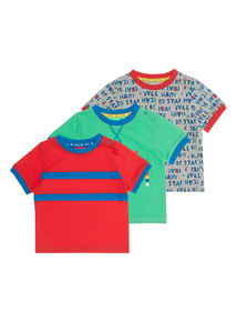 Roll With It Tees 3 Pack (0 - 24 months)