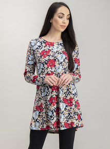 Multicoloured Daisy Ditsy Floral Tunic