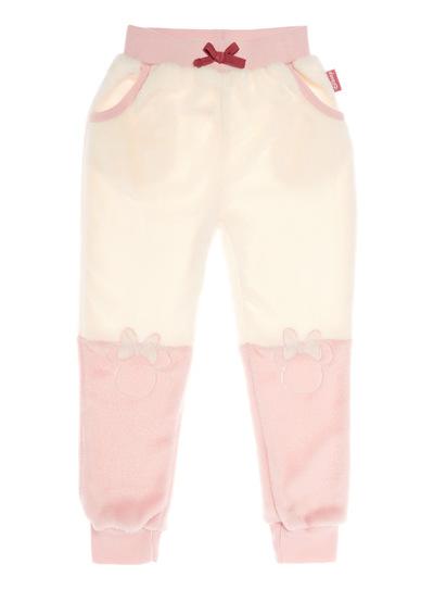 Pink Disney Minnie Mouse Fleece Bottoms (18 months-12 years)