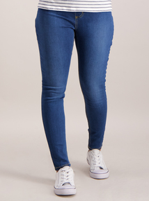 Mid Denim Blue Jeggings