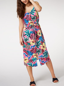Button Through Camisole Dress
