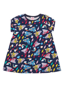 Girls Navy My Little Pony Dress (9 months-6 years)