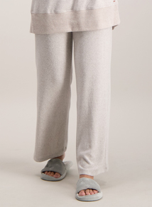 dc27dac919 Beige Wide Leg Super Soft Lounge Trousers