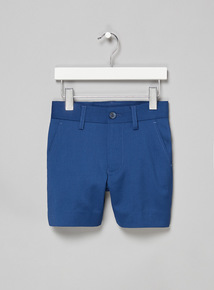 Navy Smart Occasion Shorts (3-14 years)