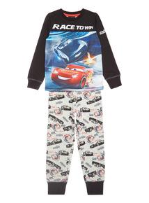 Grey Disney Cars Race To Win Pyjama Set (1-8 years)