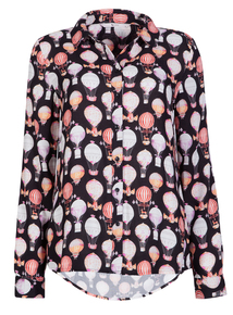 Online Exclusive Multicoloured Balloon Print Shirt