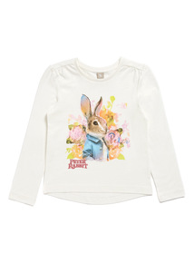 Cream Peter Rabbit Top (9 months-6 years)