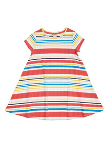Multicoloured Jersey Rib Dress (9 months - 6 years)