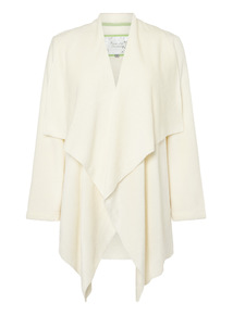 Cream Waterfall Robe