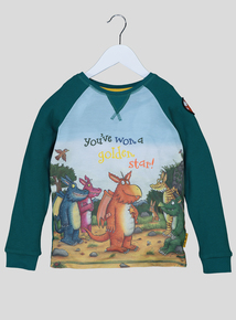 'Zog' Green Long Sleeve T-Shirt (9 months-6 years)