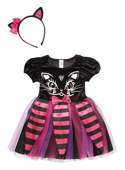 Halloween Costume 6 9 Months Uk.Sku Toddler Cat Black
