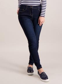 PETITE Dark Denim Skinny Jeans