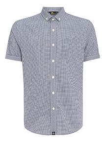 Admiral Navy Gingham Shirt