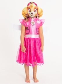 Online Exclusive Paw Patrol Skye Pink Costume (1-8 years)