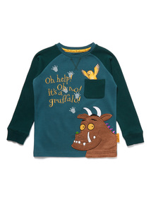 Green The Gruffalo Long Sleeve T-Shirt (9 months- 6 years)