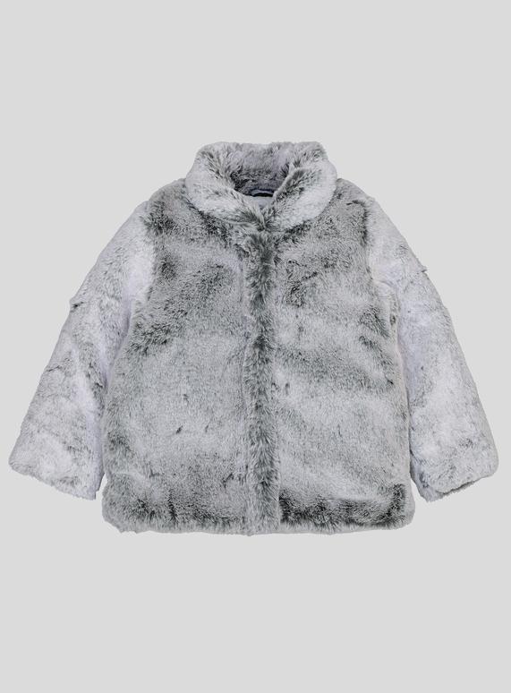 98992fd08 Kids Grey Faux Fur Coat (9 Months - 6 Years) | Tu clothing