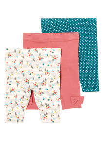 Three Pack Legging (1-24 months)