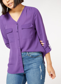 Online Exclusive Roll Sleeve Shirt