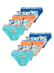 Boys Roarsome Briefs 10 Pack (18 months - 6 years)
