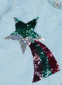 Christmas Rainbow Sequinned Jumper