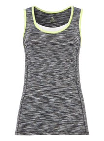 Grey Double Layer Vest