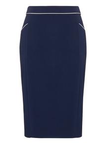 Navy PVL Skirt