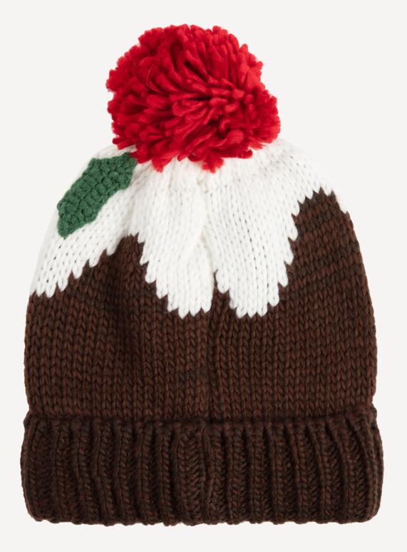 Menswear Multicoloured Christmas Pudding Beanie Hat  152523f130f