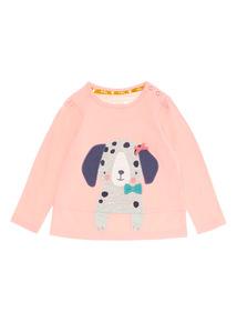 Pink Puppy Tee (0-24 months)