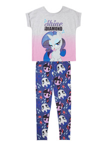 Multicoloured My Little Pony 2-Way PJs (18 months - 10 years)
