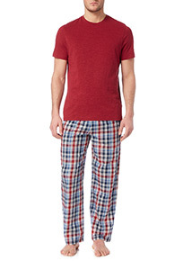 Red Checked Pyjama Set