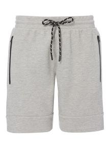 Grey Beacon Zip Detail Shorts