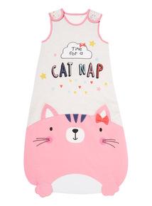Grey Cat Nap Sleeping Bag (0-24 Months)