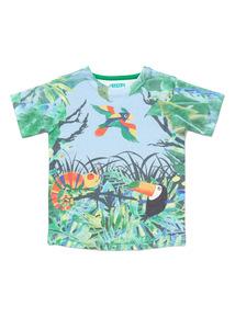 Multicoloured Rainforest Print T-Shirt (9 months-6 years)