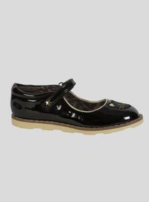 Black Cat Bumper Shoe (4 Infant-12 Infant)