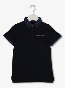Navy Polo Shirt (3-14 years)