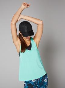 Light Green Double Layer Active Vest