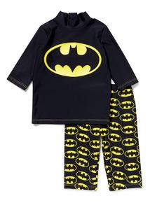 Black Batman Sunsafe Set (1-8 years)