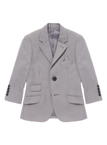 Grey Smart Occasion Jacket (3-14 years)