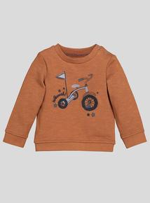 Brown Trike Sweatshirt (0-24 months)