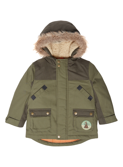 Hawke & Co. Boys Parka with Print Vestee and Berber Lined Collar. from $ 31 82 Prime. out of 5 stars U.S. Polo Assn. Big Boys' Heavy Weight Parka with Faux Fur Trimmed Hood, Classic Navy, 8 $ 39 99 Prime. out of 5 stars 4. Joules. Boys' Noah Parka Jacket. from .