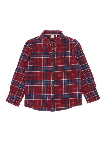 Red Check Shirt (3-14 years)