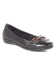 Sole Comfort Leather Ballerinas